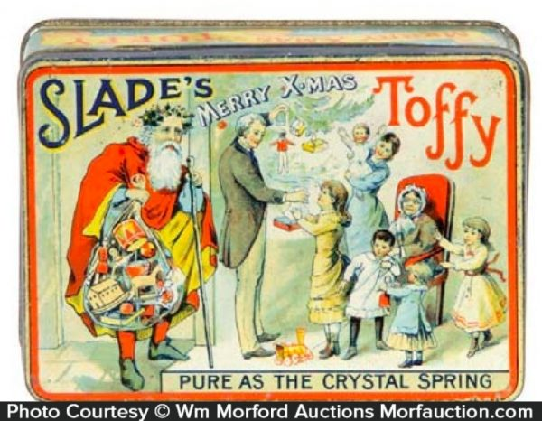 Slade's Merry X-Mas Toffy Tin