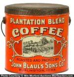 Plantation Blend Coffee Pail