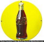 Coke Button Sign