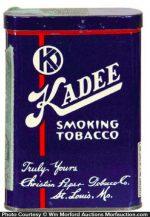 Kadee Tobacco Tin