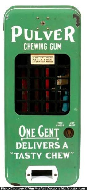 Pulver Gum Vending Machine