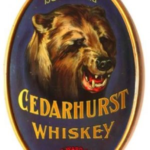 Cedarhurst Whiskey Sign