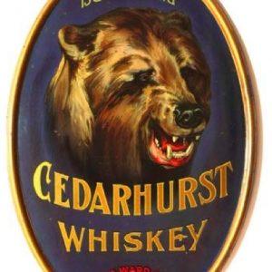 Cedarhurst Whiskey Sign