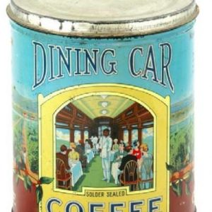 Dining Car Coffee Can