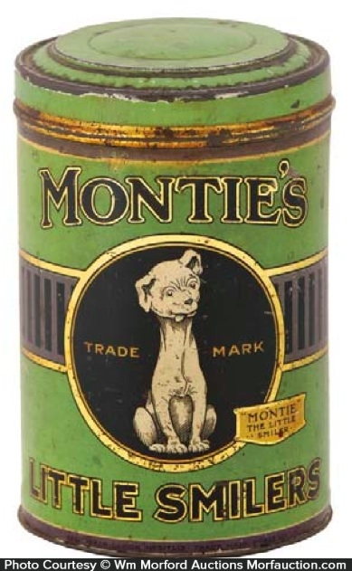 Montie's Little Smilers Cigar Can