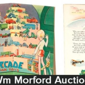 Arcade Cast Iron Toys Booklet