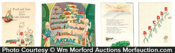 Arcade Cast Iron Toys Booklet