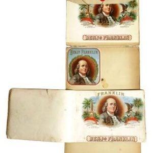 Ben Franklin Cigar Label Proofs