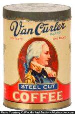 Van Curler Coffee Can
