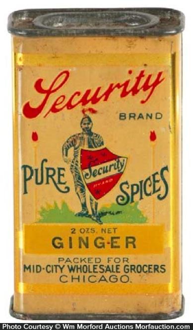 Security Spice Tin