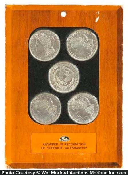 Gates Rubber Silver Dollars Award