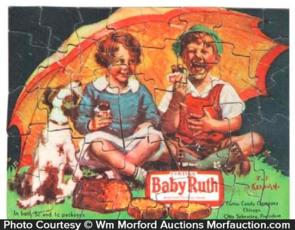 Baby Ruth Candy Puzzle