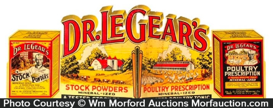 Dr. Legears Display Sign