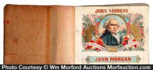 John Morgan Cigar Label Proof Book