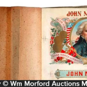 John Morgan Cigar Label Proof Book
