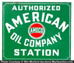 American Oil Co. Sign