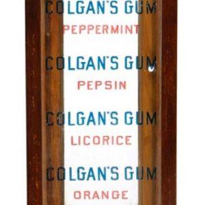 Colgan's Gum Display Case