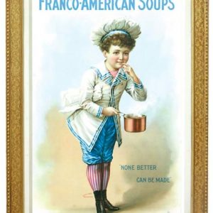 Franco-American Soup Sign