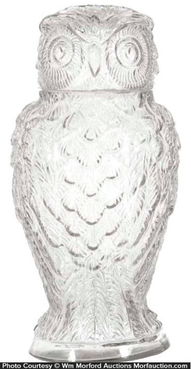 Owl Display Jar