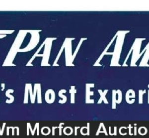 Pan American Airline Sign
