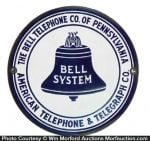 Pennsylvania Bell System Telephone Sign