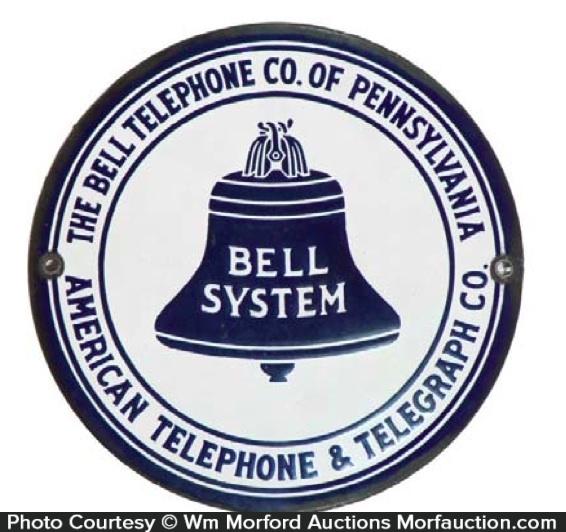 Pennsylvania Bell System Telephone Sign