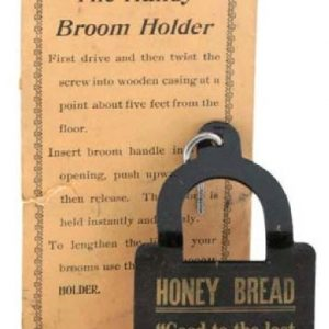 Honey Bread Broom Holder