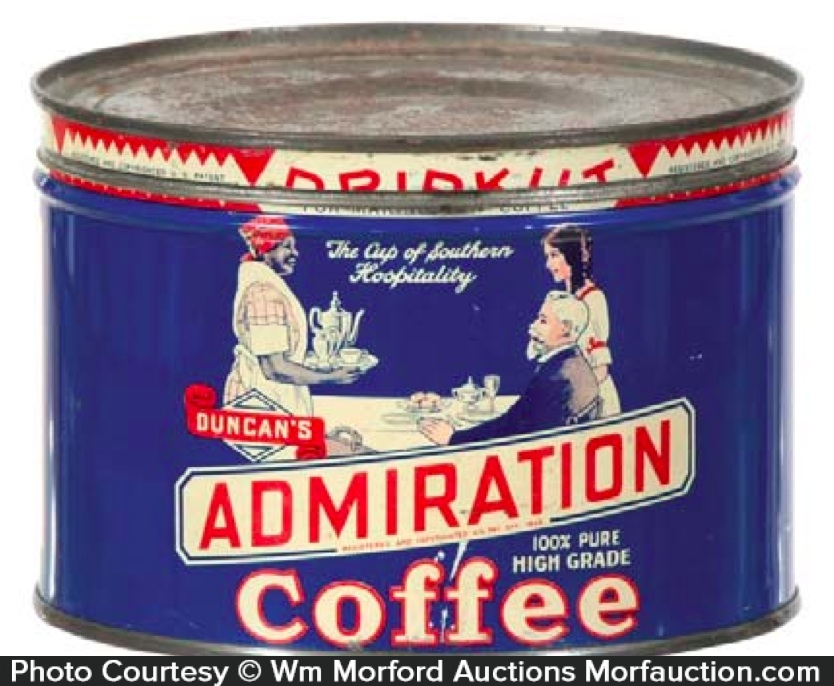 Admiration Coffee Can