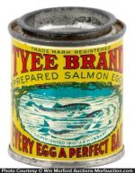 Tyee Salmon Eggs Bait Tin