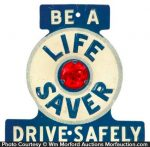 Life Savers License Plate Tag