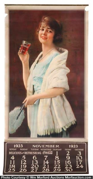 1923 Coca-Cola Calendar