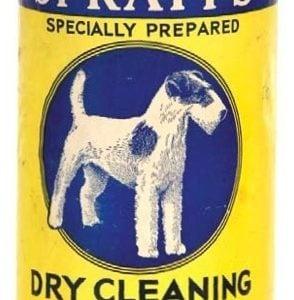 Spratt's Dry Cleaning Powder Tin