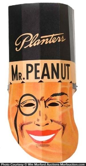Planters Mr. Peanut Mask