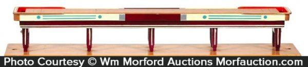 Miniature Shuffleboard Table
