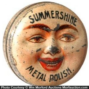Summershine Metal Polish Tin