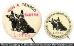 Texaco Scottie Pins