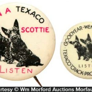 Texaco Scottie Pins