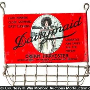 Dairymaid Cream Harvester Display