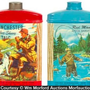 Winchester Talc Tins