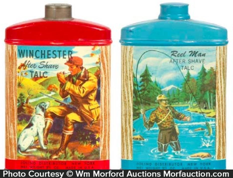Winchester Talc Tins