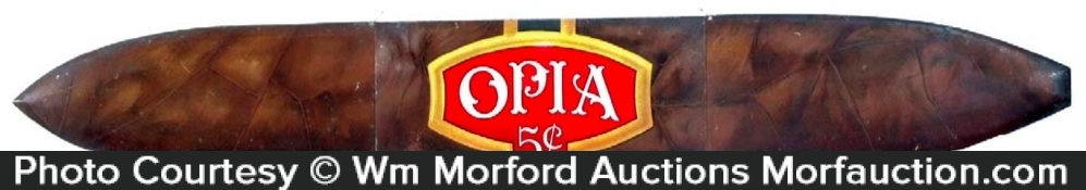 Opia Cigar Sign