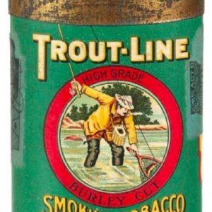 Trout-Line Pocket Tobacco Tin