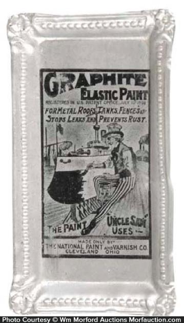 Graphite Elastic Paint Tip Tray