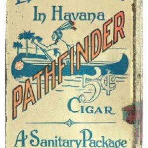 Pathfinder Cigar Tin