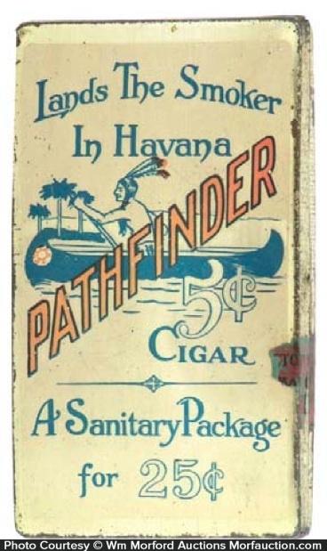 Pathfinder Cigar Tin