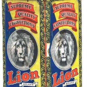 Lion Confections Candy Tin