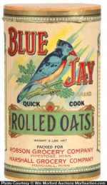 Blue Jay Oats Box