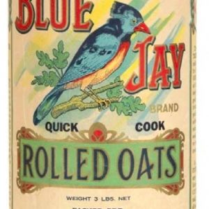 Blue Jay Oats Box