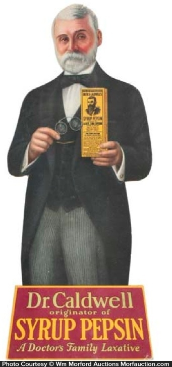 Dr. Caldwell Syrup Pepsin Sign