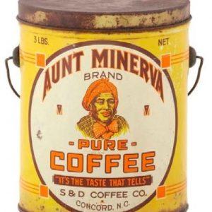 Aunt Minerva Coffee Pail